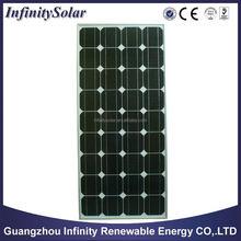 alibaba hot sale high efficiency monocrystalline silicon solar module price per watt solar panel