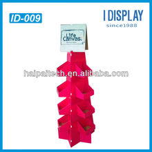 Cardboard Corrugated Paper cosmetics retail display for dry shampoo