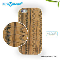 Custom for bamboo iphone case, Laser engraving logo hard back wood for iphone 5s 6 6s cover
