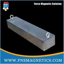 NdFeB suspended magnetic separators manufacturer magnet block