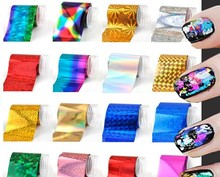 365BUY 190 STYLES NAIL DECORATION FOIL TIPS TRANSFER NAIL ART FOIL - Nail tips ,toe,cellphone craft