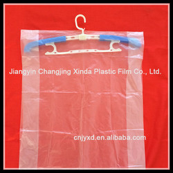 convenient garment plastic bag for suit made in China