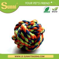 Dog ball toy lovely rope dog toy