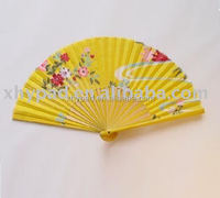 bamboo hand chinese fan