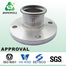 High quality stainless steel grooved flange