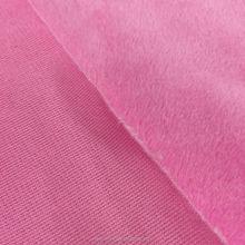 Bubble lattice super soft Poly Spun Velour Fabric