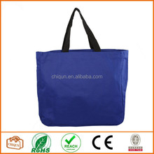2015 Chiqun Dongguan polyester 600D tote bag Royal Blue