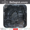 CE approved 2m portable hot tub, 6 person outdoor spa, gazebo hot tub