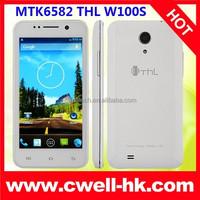 Hot Sale 4.5 Inch Screen THL W100S Quad Core Dual SIM Smartphone