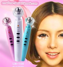 face beauty Eyes pen wrinkle remove pen with LED light massager Relieves dark circles and puffiness under eyes for Wrinkle