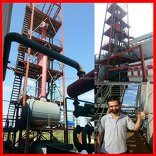 Austrilia USA Canada ul standard with 85% cargo ship diesel yield for waste tyre oil pyrolysis purification plant