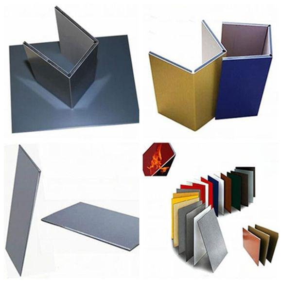Aluminium Cladding Up Box : Alucobond aluminium panneau composite à dubaï paroi