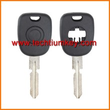 4 pista llave transponder blanco caso de shell de Mercedes Benz w124, w202, w220, W140 clave en blanco de repuesto caso de shell con logo