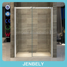 8mm New Design Wheels SS Material Shower Enclosure BL-401(CE)