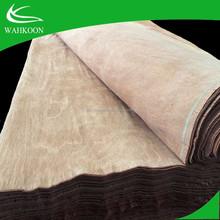 0.3mm nature gurjan wood veneer wood veneer/keruing laos