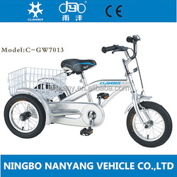 2015 new style china cargo baby tricycle / baby balance bike