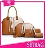 2015 new arrival 4 pc set bags wholesale leather handbags korea durable pu bags luxury designer handbag women fashion handbags