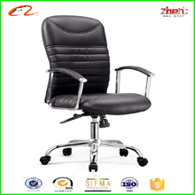 2015 famous chair designers modern leather swivel office chair ZM-B37