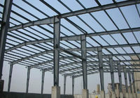 Light Prefabricated Design Structural Steel Frame Warehouse