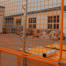 Safety netting rapid frame for construction safety