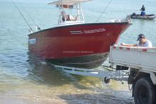 7m aluminum fishing boat with 200HP yamaha engine