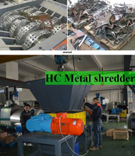 industrial metal recycling plant