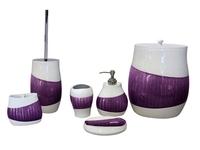 New Design Purple Luxury Bathroom accessories Set