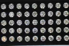round shape facets star cut cubic zircon at good price
