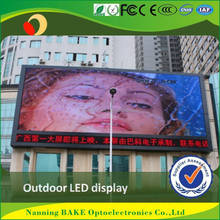 ce rohs neon light p8 smd program led bus message signs board
