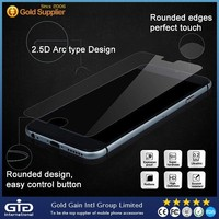 Full cover screen protector for iphone 6 tempered glass curved edge