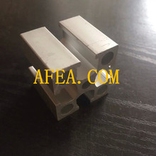 extruded aluminum frame and aluminum framing systems for solar panel installation