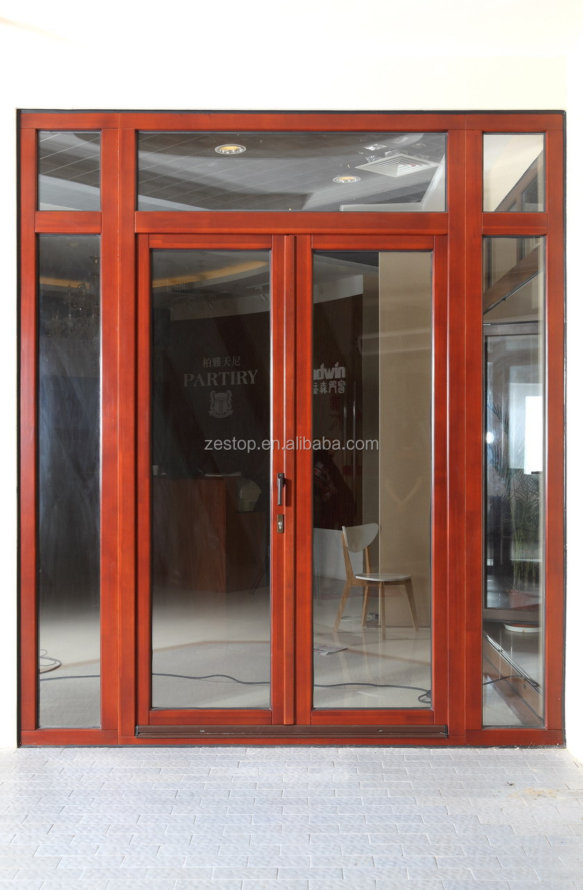aluminium double glass double entry storm doors buy