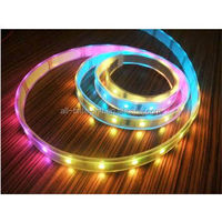 Individual Color Control RGB LED Flexible Strip -assembly line