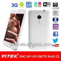 Factory made 4'' dual core android cheap mobile phone