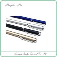 min order 10 pcs metal gel pen wholesale in china