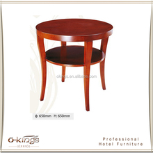 hot sell small round coffee table hotel side table