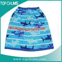 Silk print Personalized solid color fashiobale and wrap towel for gift