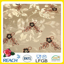 PVC Gold Table cloth in wedding/ banquet/ outdoor disposable
