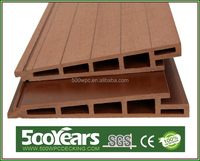 hot sale and high quality outdoor waterproof wood plastic composite wall panel 177*28mm