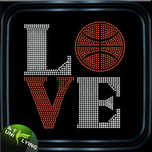 Seller for Products Related Basketball in LOVE rhinestone motif