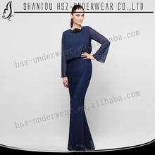 Mda017 camiseta de manga larga abaya kaftan vestido hechos a mano árabe kaftan abaya noche vestido de fiesta vestido digna de largo caftán vestido