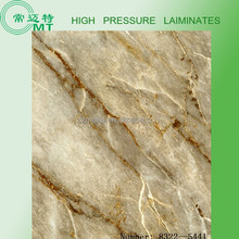 Formica hpl/compact laminate marble design sheets/formica sheet for sale