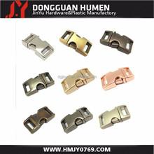 Dgjinyu Jinyu wholesale side release buckle , 3/8 Inch high quality metal buckle