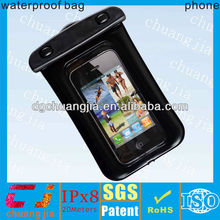 2015 mobile phone pvc waterproof case for iphone