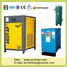 22kw 6 barra de compresor de aire con secador de aire