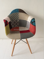 plastic chair with cloth chair with arm luxury chair