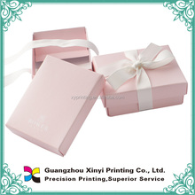 Sweet gift packaging box with ribbon