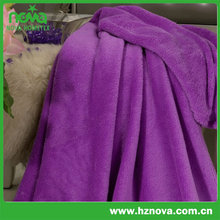 coral fleece sheets/comfortable bed throw/fluffy and thick bed blanket