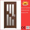 Wooden flower design decorative doors for home SC-P081