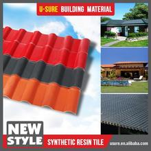Wind resistance synthetic resin roof car shed